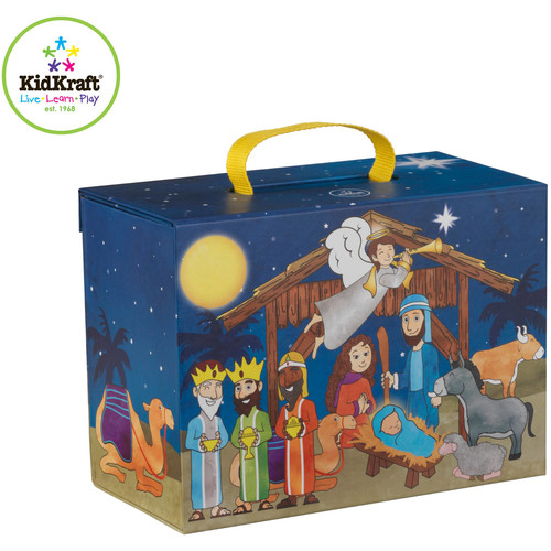 KidKraft Travel Box Play Set, Nativity Scene