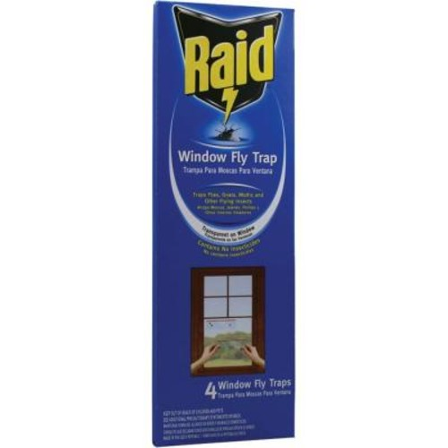 Raid 4 Window Fly Trap (3-Pack)