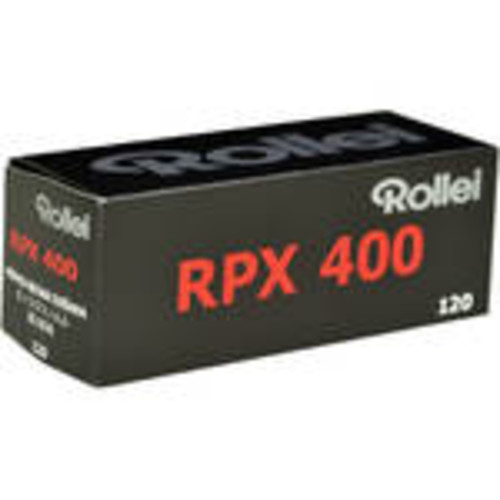 RPX 400 Black and White Negative Film (120 Roll Film)