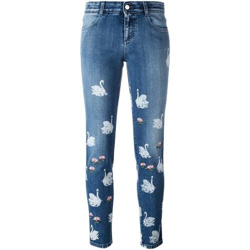 STELLA MCCARTNEY 'Swan' Jeans
