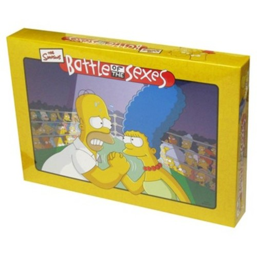 Battle of the Sexes Simpsons Board Game [None, One Size]