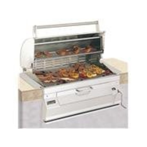 Charcoal Legacy Built In Grill (Grill w 24 in. Hood)