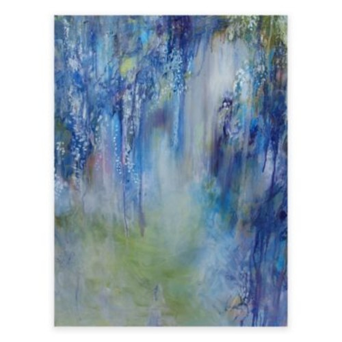 Rhapsody in Blue All-Weather Outdoor Canvas Wall Art