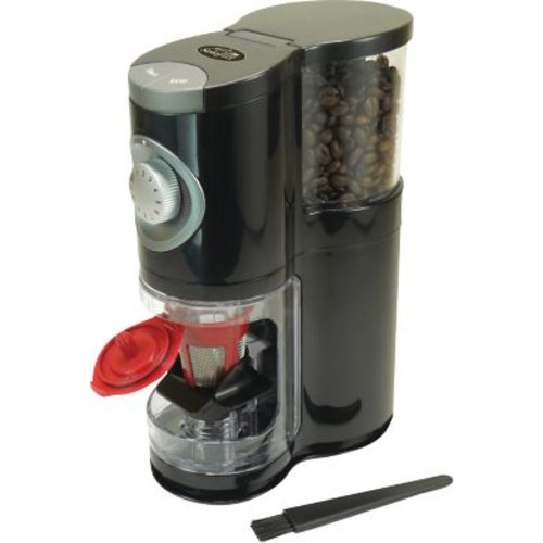 Solofill SoloGrind Automatic Single Serve Coffee Burr Grinder