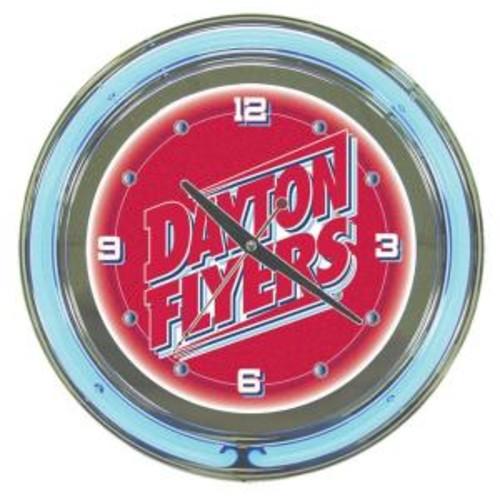 Trademark Global University of Dayton 14 in. Neon Wall Clock