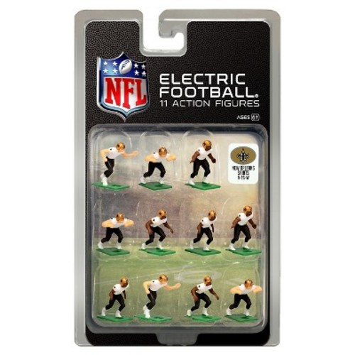 Orleans Saints White Uniform NFL Action Figure Set