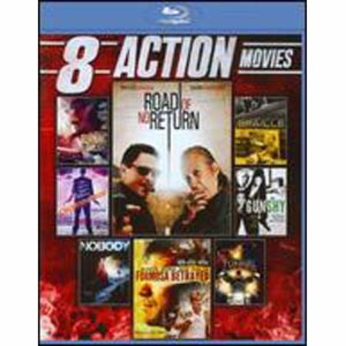 8 Action Movies [2 Discs] [Blu-ray]