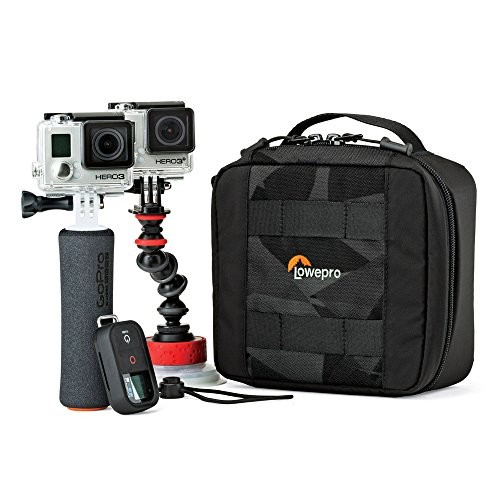 Lowepro ViewPoint CS 60 - A Soft-Sided Protective Case for DJI Spark, 360 Fly or 2 GoPro Action Video Cameras [CS 60]