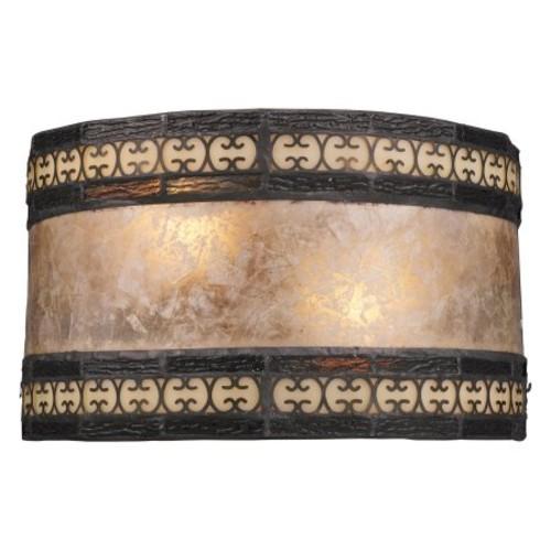 ELK Lighting 70064-2 Mica Filigree 2-Light Sconce - 10W in. Tiffany Bronze
