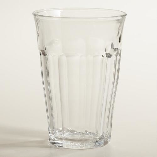 Tempered Duralex Picardie Highball Glasses Set of 4