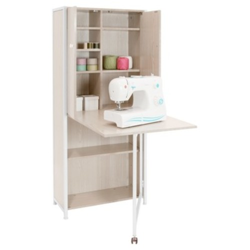 Craft Armoire - White - Sew Ready