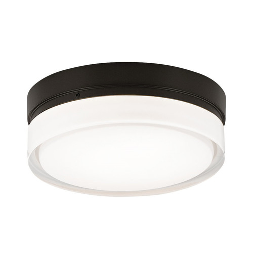 Cirque Ceiling Light [Diameter : Small: 6 in diameter; Lamp Type : Incandescent 120V; Finish : Satin Nickel]