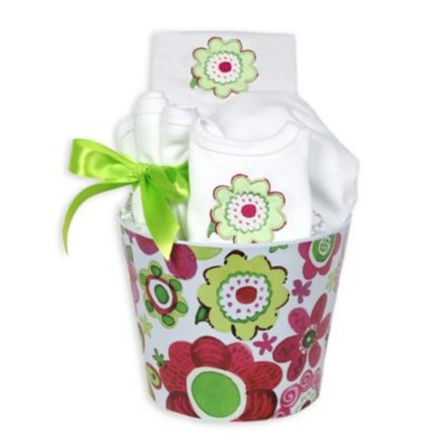 Raindrops Blooming Flowers 8-Piece Green Flower Gift Set