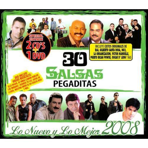 30 Salsas Pegaditas: Lo Nuevo y lo Mejor 2008 [2CD/1DVD] [CD & DVD]