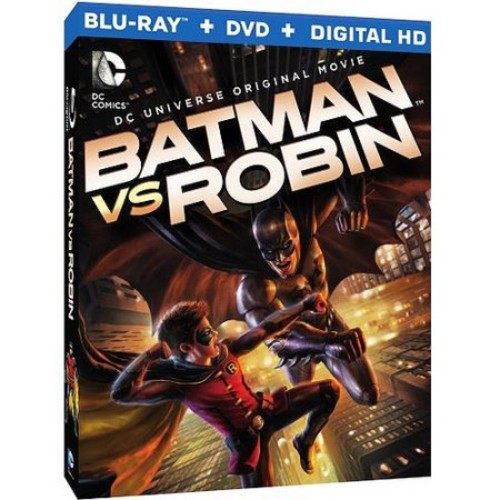 Batman vs. Robin [2 Discs] [Includes Digital Copy] [UltraViolet] [Blu-ray/DVD] WSE DD5.1/DD2/DHMA