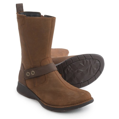 Merrell Travvy Mid Boots - Waterproof, Leather (For Women) [width: M]