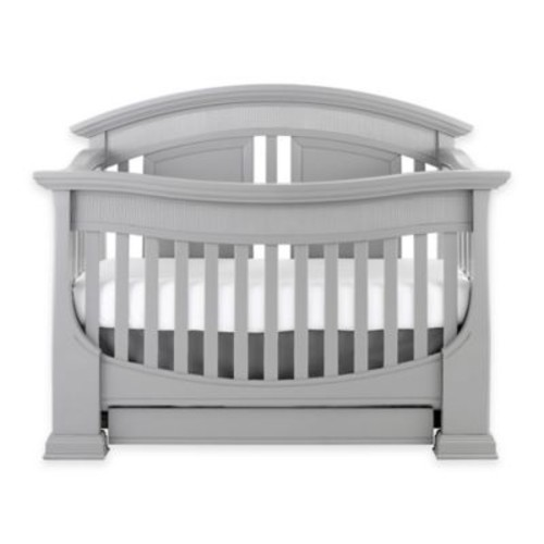 Baby Appleseed Chelmsford 4-in-1 Convertible Crib in Moon Grey