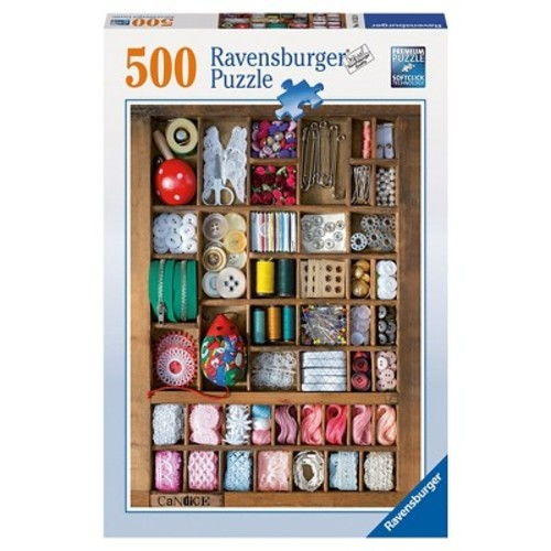 Ravensburger Jigsaw Puzzle 500-Piece - The Sewing Box