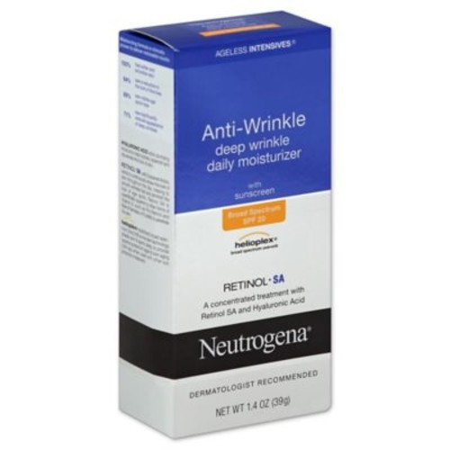 Neutrogena Ageless Intensives 1.4 oz. Anti-Wrinkle Deep Wrinkle Daily Moisturizer SPF 20