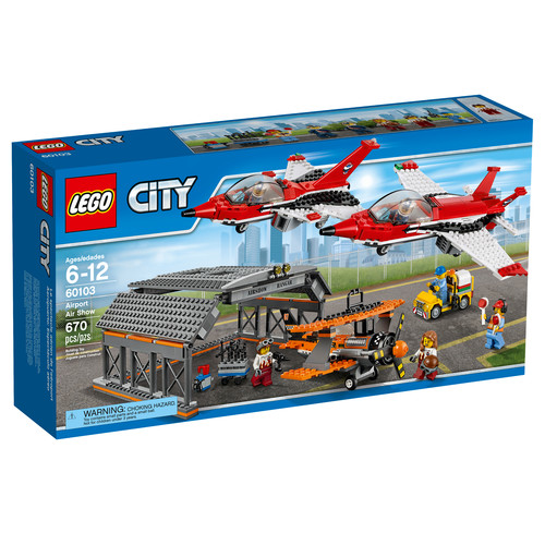 LEGO City Airport Air Show with 6 Minifigures #60103