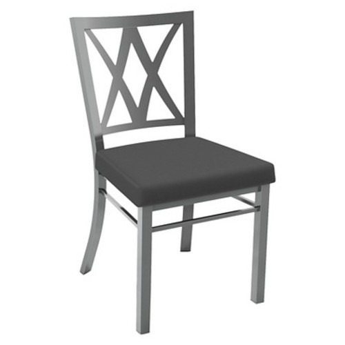 Washington Dining Chair Metal/Gray - Amisco