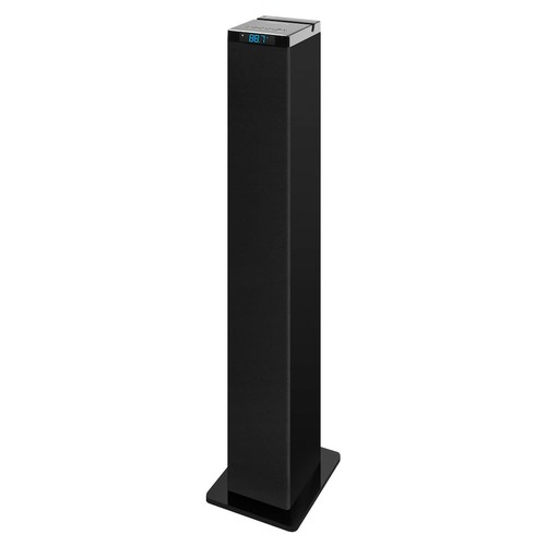 Innovative Technology ITSB-200 42-Inch Tall Tower Bluetooth Stereo System with Cradle, Black