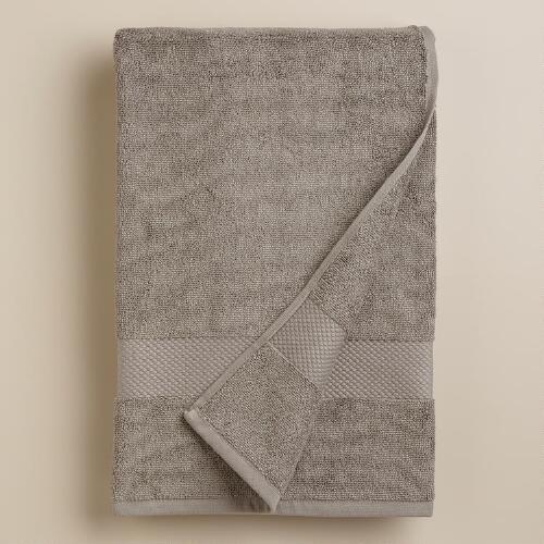 Frost Gray Bath Towel
