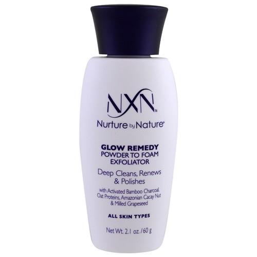 Nurture by Nature NxN Glow Remedy Powder to Foam Exfoliator -- 2.1 oz