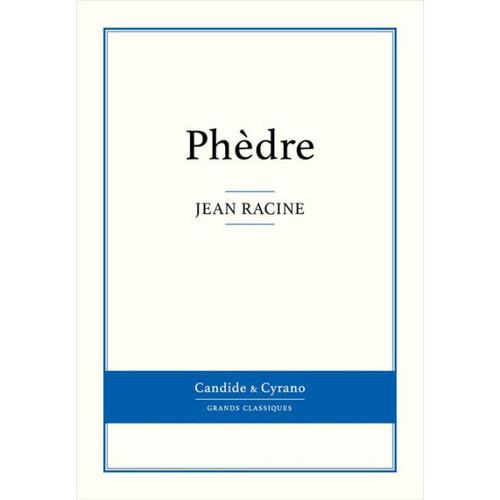 Phdre: By Jean Racine [CD]