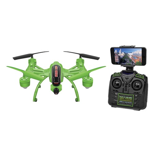 World Tech Toys Mini Elite Orion Glow-in-the-Dark 2.4GHz 4.5CH Remote Control Camera Drone