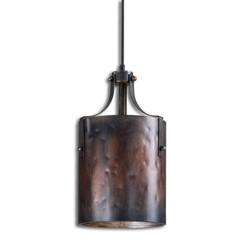 Uttermost Akron 1-light Washed Copper Mini Pendant