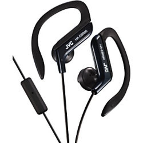 JVC Sports Ear Clip Headphones with Mic and Remote