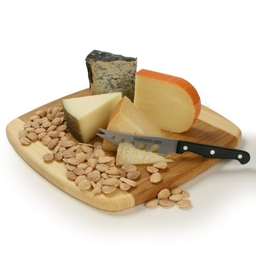Spanish Cheese Board Gift Set (30 ounce) : Gourmet Cheese Gifts : Grocery & Gourmet Food