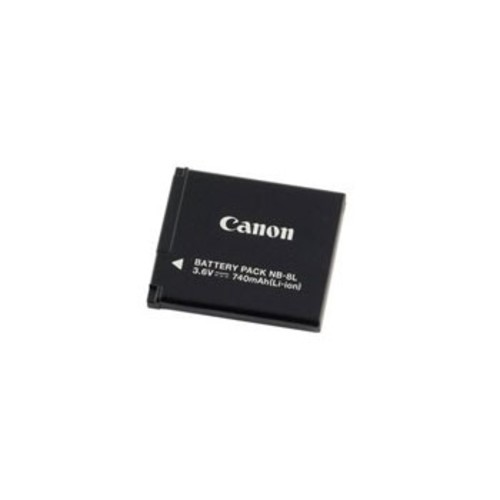 Canon NB-8L Rechargeable Lithium-Ion Battery Pack (3.6V, 740mAh)