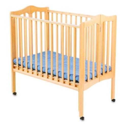 Delta Children's Portable Crib in Natural