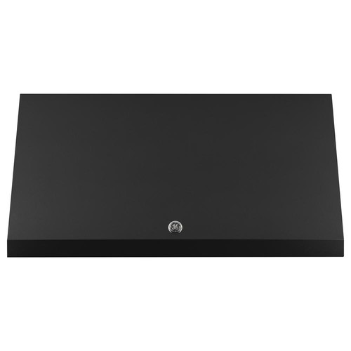 GE Cafe 30 in. Designer Range Hood in Black Slate