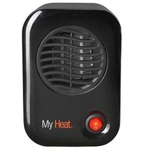 Lasko #100 MyHeat Personal Ceramic Heater [Black]