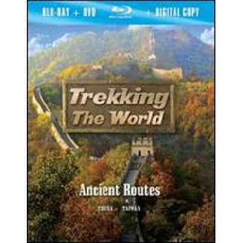 Trekking the World: Ancient Routes [2 Discs] [Includes Digital Copy] [Blu-ray/DVD] WSE DD2