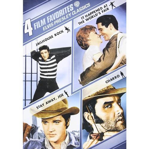 Elvis Presley Classics: 4 Film Favorites [2 Discs] [DVD]