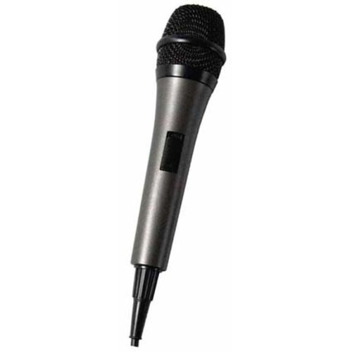 Singing Machine SMM-205 Unidirectional Dynamic Microphone with 10 Ft. Cord [Black]