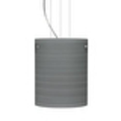 Besa Lighting 1KG-4006TN Tamburo 1 Light Cable-Hung Pendant with Titan Glass Shade