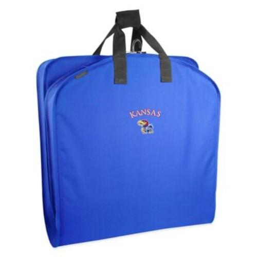 WallyBags University of Kansas 40-Inch Garment Bag with Handles