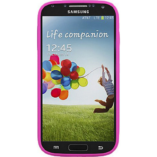 uNu Unity Ultra-Slim 2600mAh Battery Case for Samsung Galaxy S4 - Black/Magenta