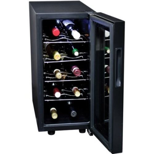 Koolatron 10-Bottle Wine Cellar, Black