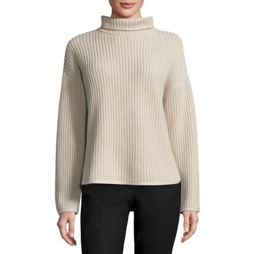 BRUNELLO CUCINELLI Paillette-Embellished Waffle-Knit Sweater, Grain