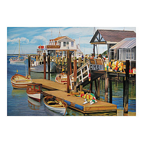 Outset Media Summer Pier Puzzle: 2000 Pcs