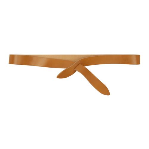 ISABEL MARANT Tan Lecce Wrap Belt