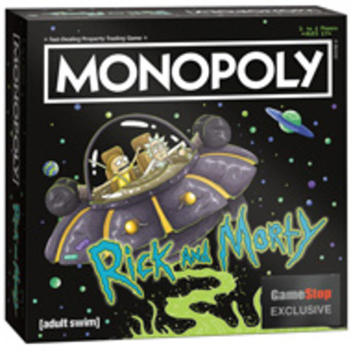 Monopoly: Rick and Morty Edition - Only at GameStop