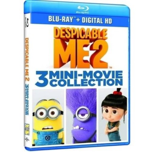 Despicable Me 2: 3 Mini-Movie Collection [Blu-Ray] [Digital HD]