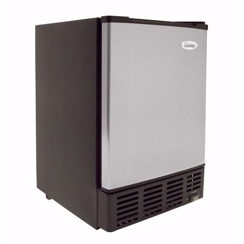 Vinotemp Under-Counter 12 lb. Built-In Ice Maker in Stainless/Black